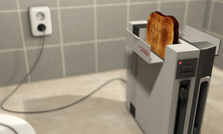 Fun Kitchen Equipment: Nintendo Console Toaster