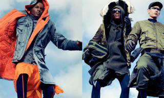 Anorak Outerwear Editorial by Sharif Hamza for VMAN