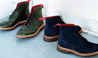 A Bathing Ape x Tricker's Fall/Winter 2012 Stow Boots