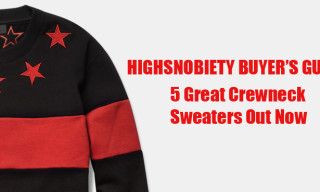 Buyer's Guide: 5 Great New Crewneck Sweaters