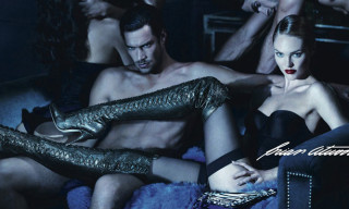 Candice Swanepoel for Brian Atwood Fall/Winter 2012