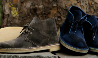 Clarks Originals Camouflage Collection Fall/Winter 2012