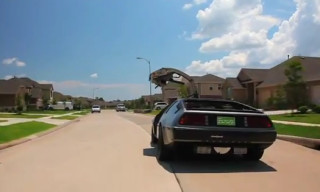 Video: DMC's New Electric Delorean