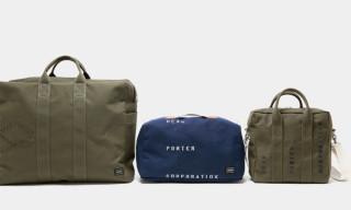 Head Porter Military Canvas Luggage Series