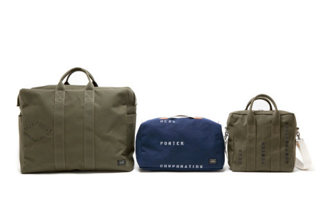 head porter canvas bag series