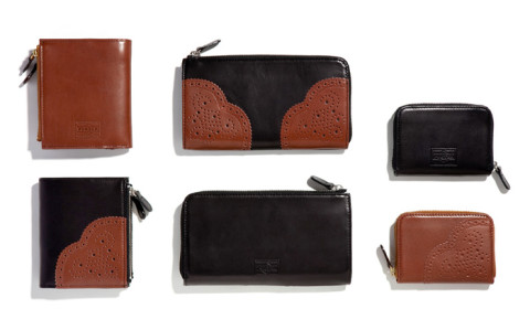 Head Porter Leather Wing Tip Wallet Series