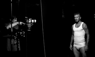 David Beckham for H&M Bodywear Campaign Fall/Winter 2012