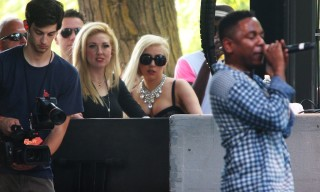 "Lady Gaga Reveals ""PARTYNAUSEOUS"" Collaboration with Kendrick Lamar"