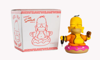 The Simpsons Homer Buddha Toy by Kidrobot