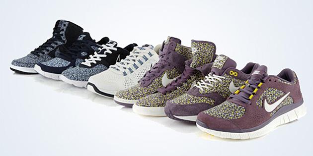 "Liberty x Nike Sportswear ""Pepper"" Collection"