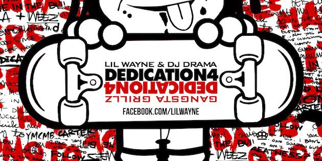 Lil Wayne Lets Fan Design Dedication 4 Mixtape Cover