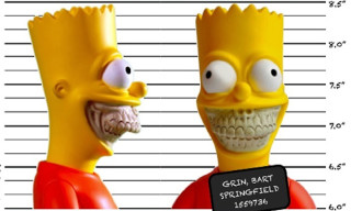 "Made By Monsters x The Simpsons x Ron English ""Bart Grin"""