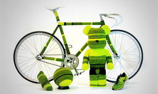 Nike Innovation Hunt – Art Works Inspired by Innovation: Flyknit Bearbrick & More