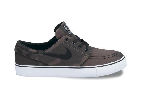 Nike SB Stefan Janoski 'Iguana/Black' Camouflage Sneakers