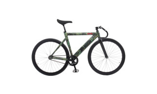 nitraid x Leader Bike 'Dope Forest' Fixed Gear Bike