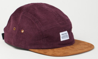 Norse Projects Corduroy/Suede 5-Panel Caps