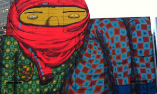 Os Gemeos Creates Massive Mural in Boston