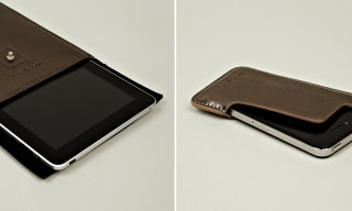 Rick Owens Metallic Leather Accessories – iPhone, iPad & Laptop Cases