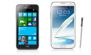 Samsung Presents the New GALAXY Note II & ATIV S Windows 8 Smartphones