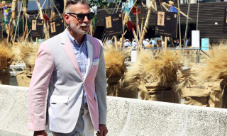 Street Style: Thom Browne Tricolor Everywhere