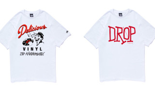 Stussy x Delicious Vinyl 25th Anniversary T-Shirt Collection