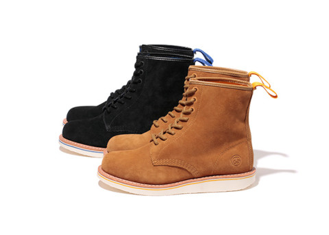 stussy dr. martens brighton 8 eye boots fall 2012