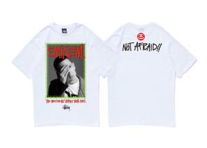 stussy eminem japan tour t-shirt