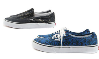 Vans x Kenzo Authentic & Slip-On Fall/Winter 2012