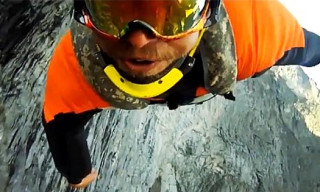 Video: Reality Of Human Flight – Wingsuit, Tracksuit Flying