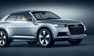 Audi Crosslane Coupe Concept presented at Paris Motor Show 2012