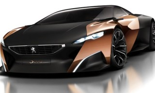 Introducing The Peugeot Onyx Concept Car