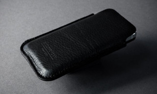 Leather Pouch for iPhone 5 by KILLSPENCER
