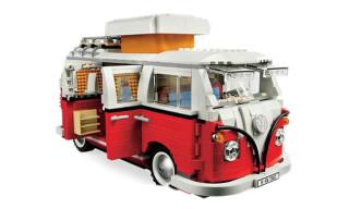 Lego Volkswagen T1 Camper Van Replica