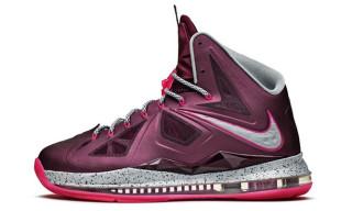 Nike LeBron X+ 'Fireberry'