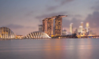 The Lion City – An Amazing Tilt Shift Stop Motion Video of Singapore