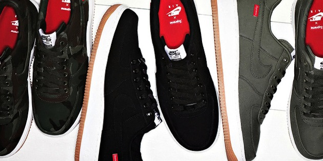46d1965d25 70%OFF Supreme x Nike Air Force 1 Low Premium Highsnobiety - phil ...