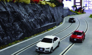 The Audi quattro Slot Car Experience
