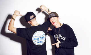 The ATL Twins in the new aNYthing Fall/Winter 2012 Collection