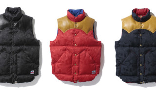 Bape x Rocky Mountain Featherbed Down Vests