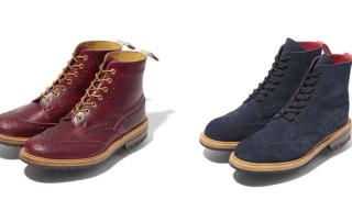 Bape x Tricker's Fall/Winter 2012 Wingtip Boots