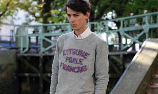 Brooklyn We Go Hard x Kitsune Crewneck Sweater