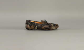 Car Shoe Camouflage Loafer