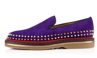 Christian Louboutin Fredapoitiers Slip-On Stud Shoes