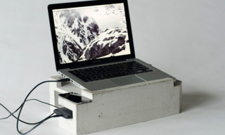 Foundation Concrete Laptop Stand