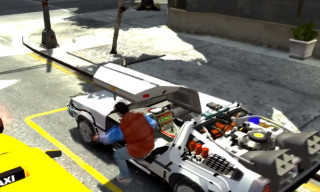 Video: Grand Theft Auto IV – Back to the Future Mod