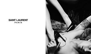 Hedi Slimane's First Campaign for Saint Laurent Paris – 3/15