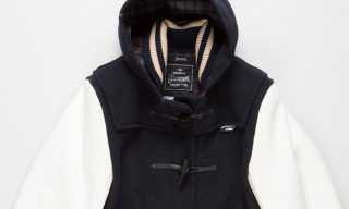 Junya Watanabe COMME des GARCONS MAN x Gloverall Varsity Duffle Coat