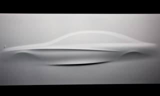 Mercedes-Benz 'Aesthetics S' Sculpture Hints at the new S-Class Design