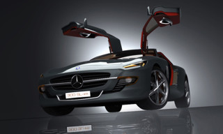 Mercedes 300SL 'Gull-Winged Bird of Prey' Concept