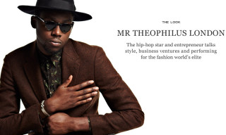 The Look – Theophilus London Gets Styled by Mr. Porter